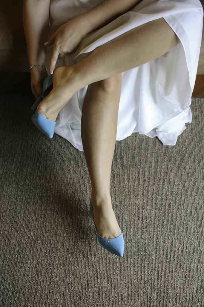 Blue Heels Wedding Phreckles