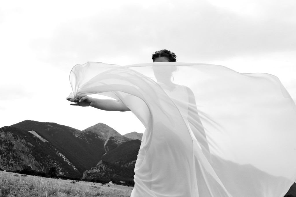 Wedding Veil and Mountains Phreckles