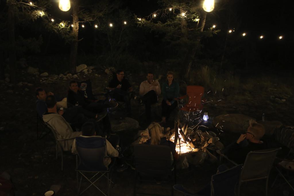 Colorado Wedding Campfire