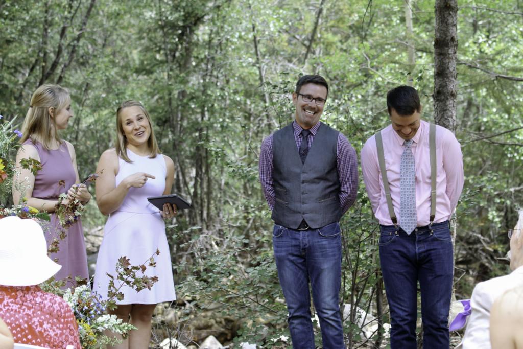 Gay Colorado Wedding Freckles
