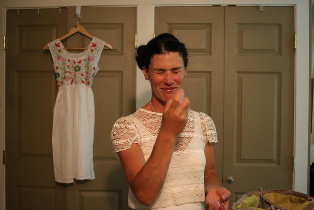 Wedding Prep Phreckles Photo