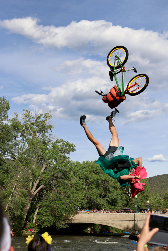 Bike Jump Fail Salida