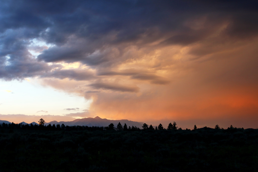 Chaffee County Sunset